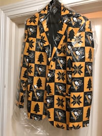 NHL Official • New Pittsburgh Penguins Ugly Christmas~Suit Jacket