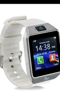 black and white smart watch Fall River, 02724