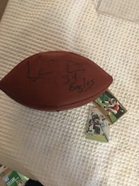 Eagles Autographed Football Germantown, 20874