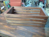 Good for everything sturdy solid wood basket