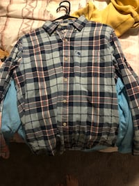 Black, white, and green plaid sport shirt Pensacola, 32505