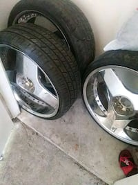 "22"" gitiano blade rims and tires"