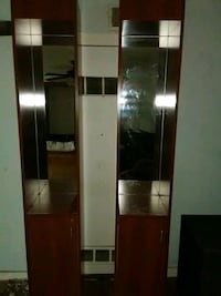 brown wooden cabinet with mirror Kansas City, 64118