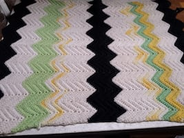 Knit Mini Throws  -- One left