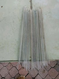 "Glass rods 45 total 20"" long Roanoke"