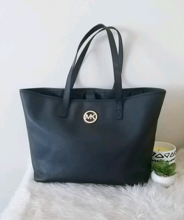 Michael Kors purse mk saffiano tote bag  0