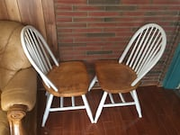 brown and white wooden dining table set St. Catharines, L2T 1R1
