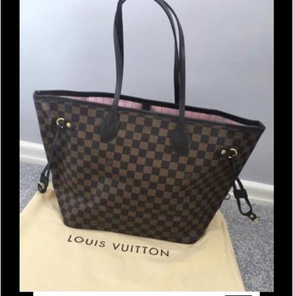 2964a1cbcbcf Used Louis Vuitton neverfull handbag High quality for sale in ...