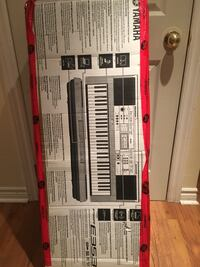 Yamaha pro E353 electronic keyboard in the box. Original price of 450 plus tax, now for only 160. Price IS NOT NEGOTIABLE  Aurora, L4G 1N3