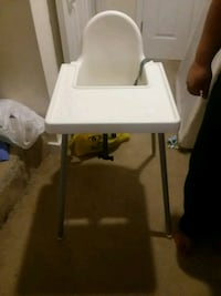 white and gray high chair New Market, 21774
