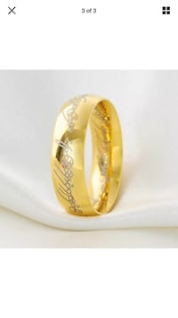 """8mm Stainless Steel """"Lord of the Rings"""" Ring Stockton, 95219"""