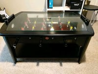 black and brown wooden foosball table  New Braunfels, 78130