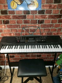 61 lighted keys electric keyboard