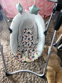 baby swing battery operated GRACO