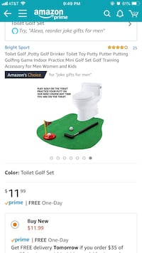 Toilet golf - brand new/never used Pflugerville, 78660