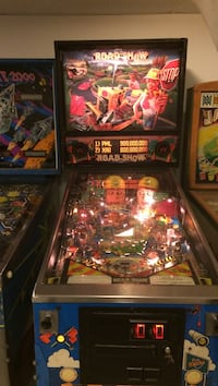 Williams road show pinball