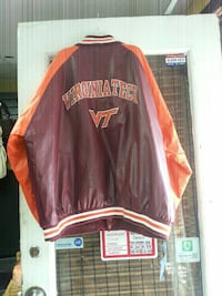 brown and orange letterman jacket Baltimore, 21223
