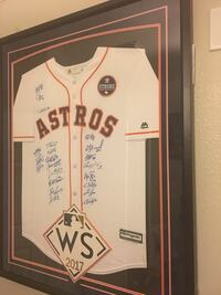 Astros World Series signed jersey signed by 22 players and head coach Cypress, 77433