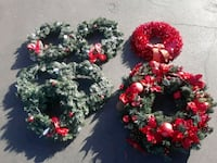 BEAUTIFUL COLLECTION HOLIDAY WREATHS Los Angeles, 91607