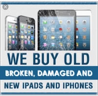 WE BUY ALL APPLE PRODUCTS: WORING & NON-WORKING: For Parts - Locked - all types of condition  New York, 11415