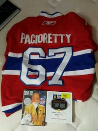 Montreal Canadiens jersey and Rock em Sock em 25th year Anniversary  Waterloo, N2L