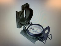 Cammenga official US Military Tritium Lensatic Compass, Clam Pack Spring Lake, 28308