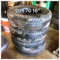Used tires 205 7015 Palm Bay, 32908