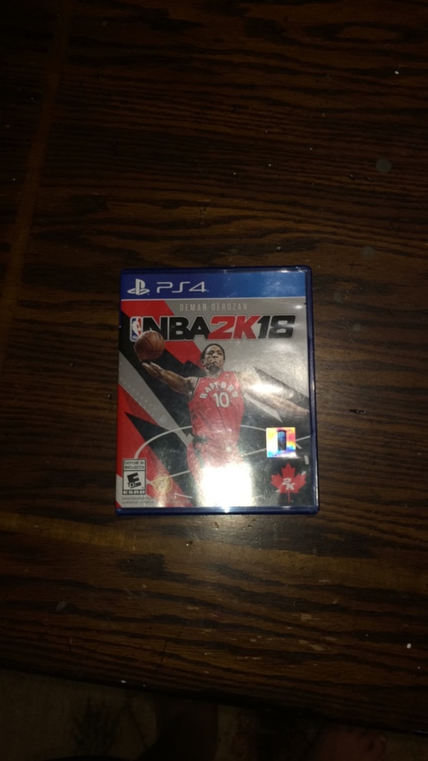 Sony PS4 NBA 2K16 game case