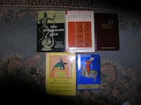 Five (5) Holy Books from Different Faiths Springfield