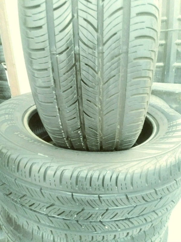 Used Tires San Jose >> 2 Used Tires 225 60 17 Continental Conti
