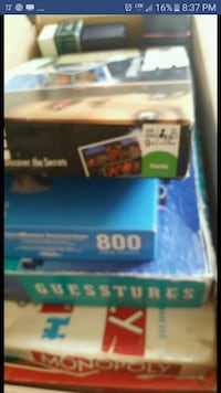 Various games, $1 each, msg for info. White Cloud, 49349