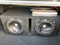 Two 12's and Interfire Amp Bakersfield, 93306