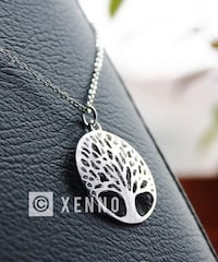 Tree of life silver plated necklace - brand new Lubbock, 79424