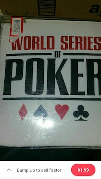 World Series Of Poker Sleep Set