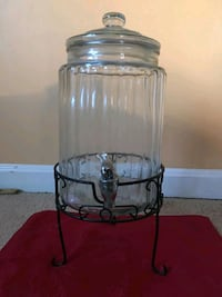 clear glass jar with lid Burke