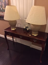 Pair of Beige Lamps Frederick, 21704