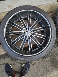 "Velocity 24"" rims  paid 4,400.00 or best offer. Union, 07083"