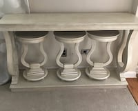 Sofa Table with 3 Snack Tables Larchmont, 10538