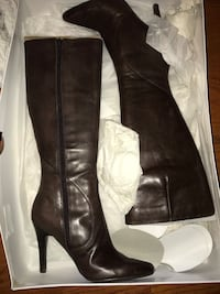 Nine West Brown leather boots Bristow, 20136