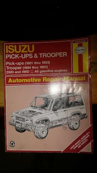 Isuzu Auto Repair Manual 804 mi