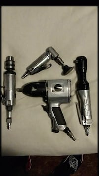 4 pc of Pneumatic Air Tools. Great condition  Plainfield, 46168