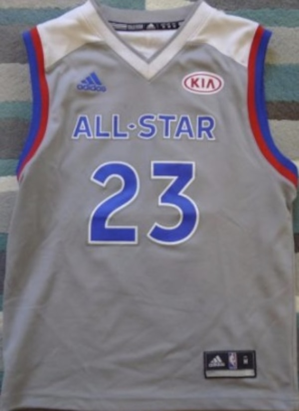 95cba3ddd Used Lebron james 2017 all star jersey size m for sale in Albany - letgo
