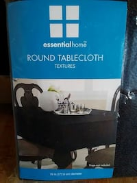 Essential Home round tablecloth  Greenbelt, 20770