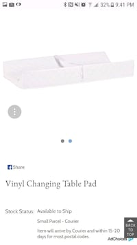 Change table pad by pottery barn kids  Vaughan, L0J 1C0