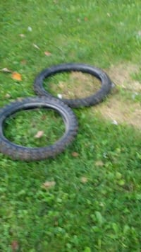 two black metal car parts Abingdon, 24210