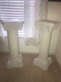 Flower Pillars Decor Columns  Bowie, 20721