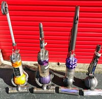 5 Dyson vacuum cleaners for parts Fayetteville