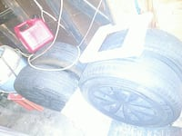 4 michelin tires toyota camry weels