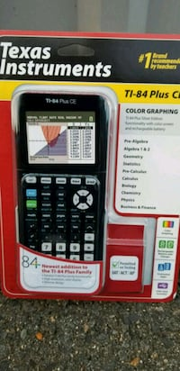 black Texas Instruments TI-84 Plus CE pack 11 mi