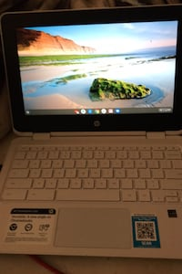 Chromebook x360 touchscreen can also be a tablet and uses the usbc charger and it does have the charger with it only thing is I ended up having to pawn it for 60 bucks so if you'd be willing to meet up at the Charleston and rainbow pawn shop to help get i Las Vegas, 89117